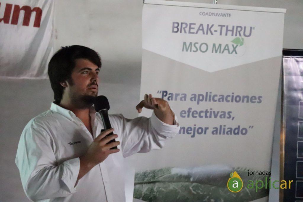Julián Etchegoyen, gerente de Marketing Tropfen.