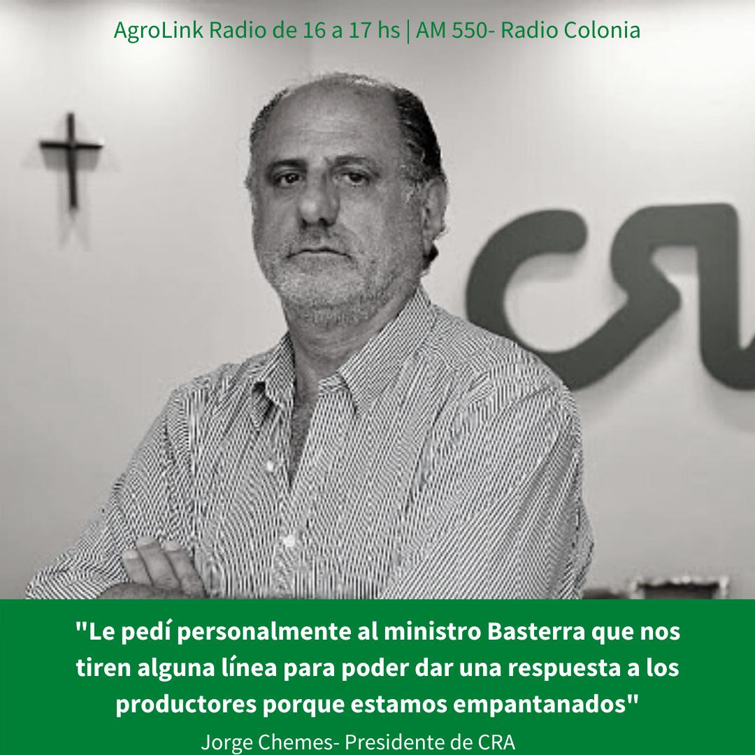 Jorge Chemes en Agrolink Radio