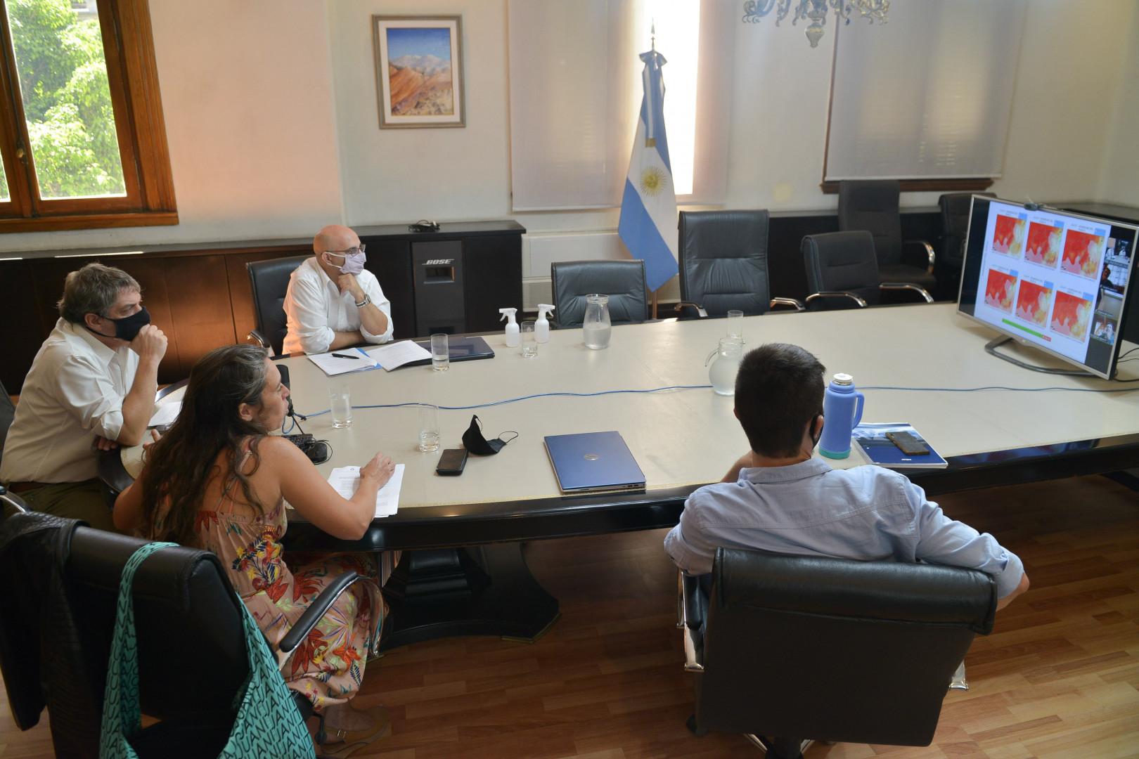 Se realizó la primera reunión del año de la CNEyDA