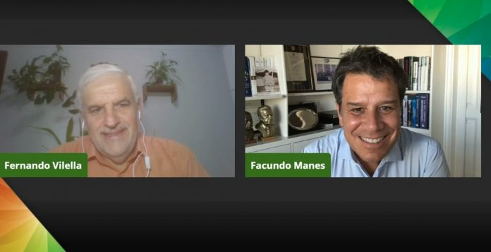 Facundo Manes en Expoagro Digital