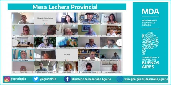 Mesa Lechera Provincial de 2021