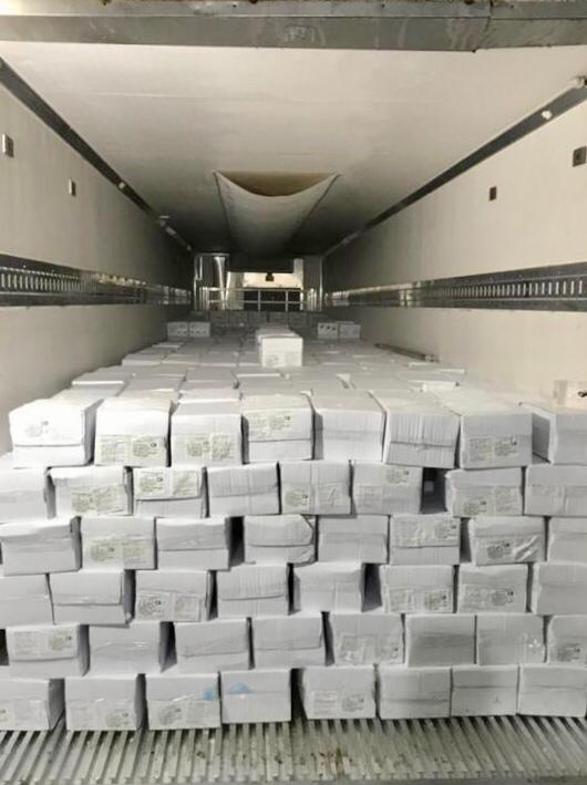 exportación de langostinos