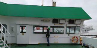 Plagas- inspección en buques