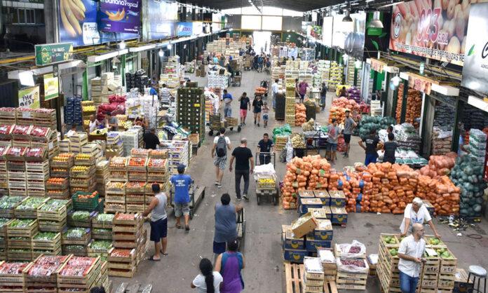 mercados frutihortícolas